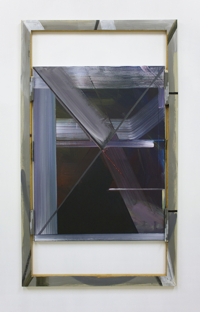 , 'Grey Painting: Text Version 55 (framed by text version 4, 2008),' 2015, Supplement
