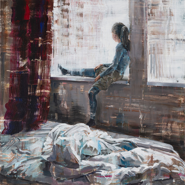 , 'Unmade Bed,' 2018, Faur Zsofi Gallery
