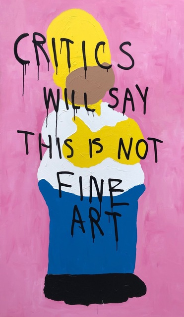 , 'NOT FINE ART,' 2018, Marcel Katz Art