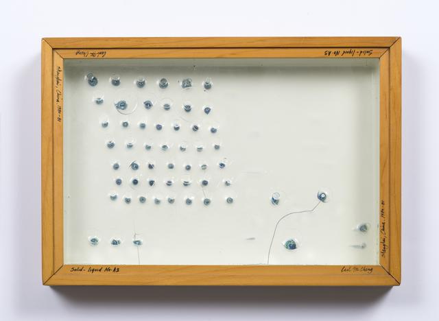 , 'Liquid/Solid Series: Solid - liquid No. A3,' 1980-1981, Philip Martin Gallery