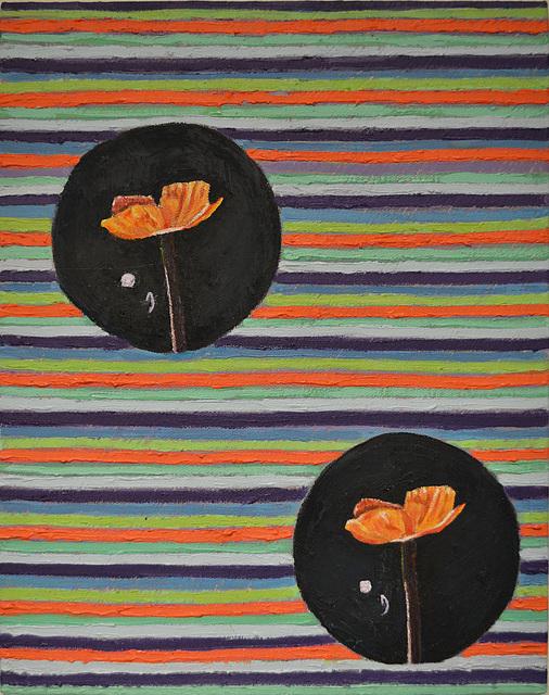 , 'Orange Flowers,' 2014, Linda Warren Projects