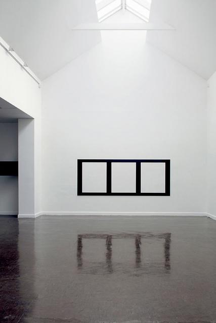 Douglas Allsop, 'Reflective Editor: Three Horizontal Rectangular Holes', 2005, Bartha Contemporary