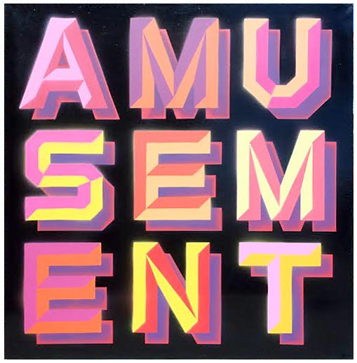 , 'Amusement - Black Gloss,' 2014, Black Book Gallery