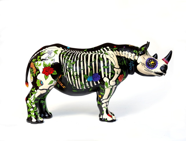 David Mach, 'Rhino Eterno', 2018, Tusk Benefit Auction