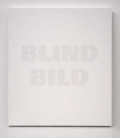 , 'Blind Bild,' 1992, Mai 36 Galerie