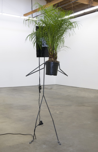 , 'Metal Man with Tree,' 2017, Ghebaly Gallery
