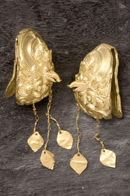 , 'Garuda ornaments from Eastern Visayas,' ca. 10th to 13th century, Ayala Museum