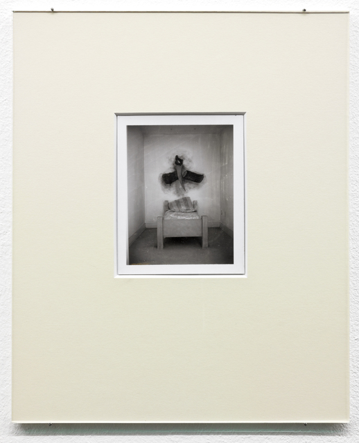 Robert Therrien, 'No title (bed with sawing log)', 1992, Photography, Polaroid photograph, Sprüth Magers
