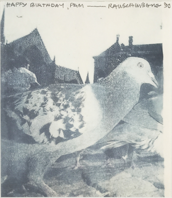 , 'Untitled (Pigeon),' 1990, Eckert Fine Art