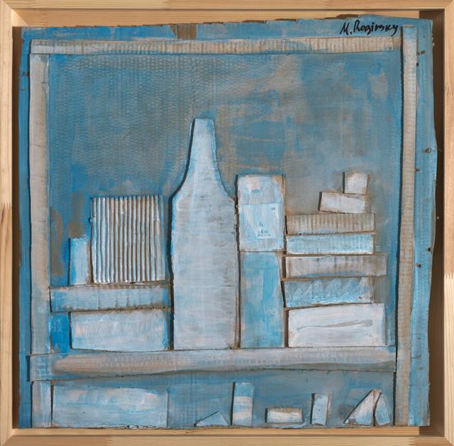 , 'White bottles on blue background ,' 1978, Art4.ru