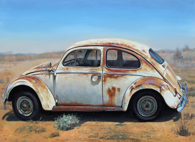 , 'Rust Bus,' 2016, Sue Greenwood Fine Art