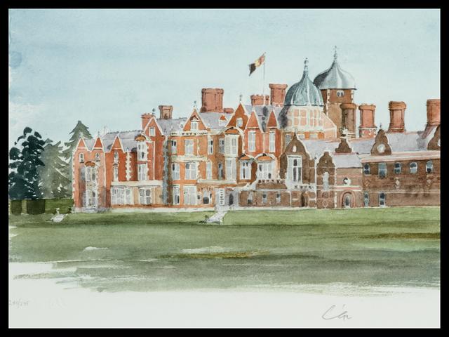 HRH Prince of Wales, 'Sandringham', Belgravia Gallery