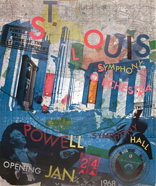 Robert Rauschenberg, 'St. Louis Symphony Orchestra', 1968, ArtWise