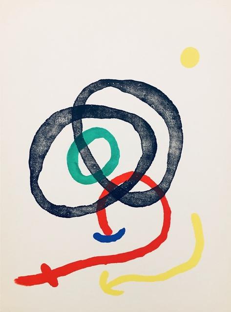 Joan Miró, 'From 'Derrière le Miroir, Joan Miró: Aquarelles, Album Femmes, Haï-Ku'', 1967, Eames Fine Art