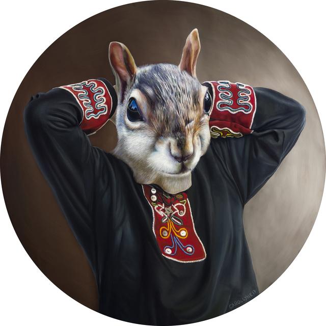 , 'Chief Rande Cook Squirrel Tunic,' 2017, Fazakas Gallery