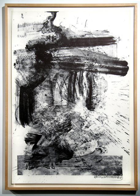 Robert Rauschenberg, 'Fuse, Stoned Moon Series', 1969, Print, Lithograph on paper, Woodward Gallery