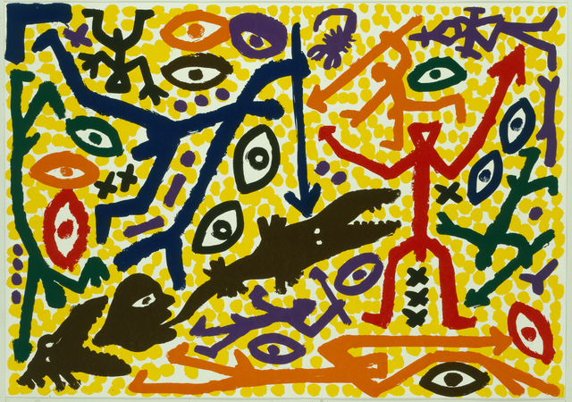 A.R. Penck, 'Ohne Titel', 1991, Galerie Fahnemann