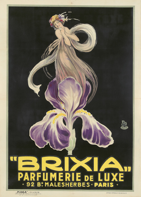 Luciano Achille Mauzan, 'Brixia / Parfumerie de Luxe.', ca. 1924, Rennert's Gallery
