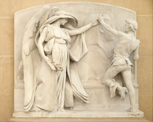 Daniel Chester French, 'The Angel of Death and the Sculptor from the Milmore Memorial', 1921–1926, The Metropolitan Museum of Art