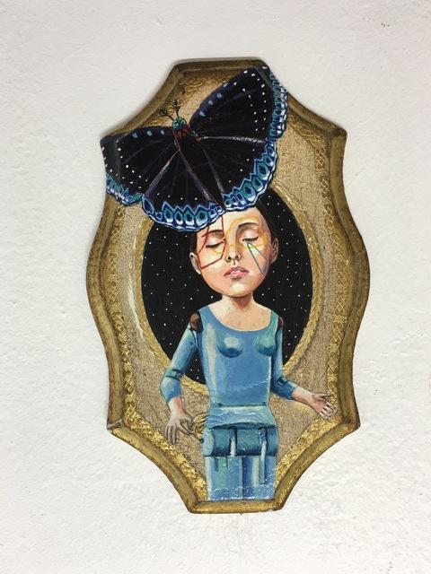 Lori Field, 'Blue Moth', 2016, Imlay Gallery