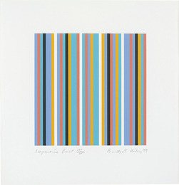 Bridget Riley, 'Serpentine,' 1999, Phillips: Evening and Day Editions