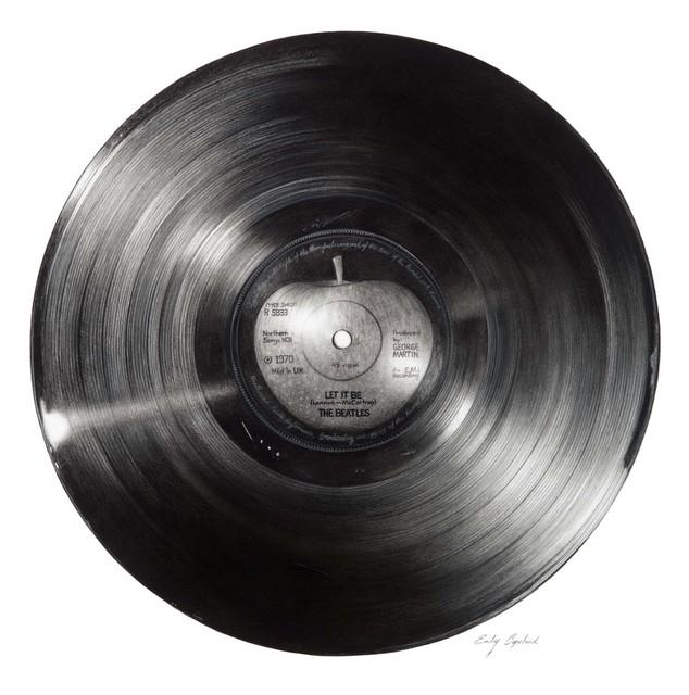 , 'Beatles Vinyl Record ,' 2016, Bernarducci Gallery Chelsea