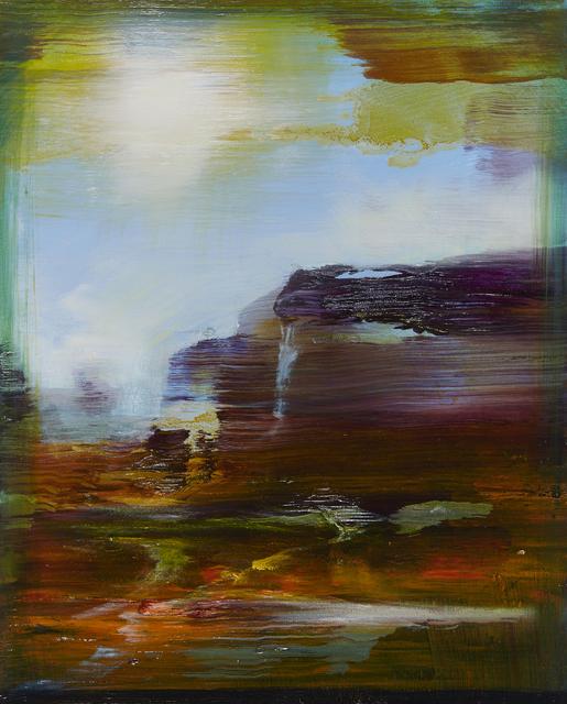 , 'Paysage rêvé Canyonland,' 2018, Galerie Les filles du calvaire
