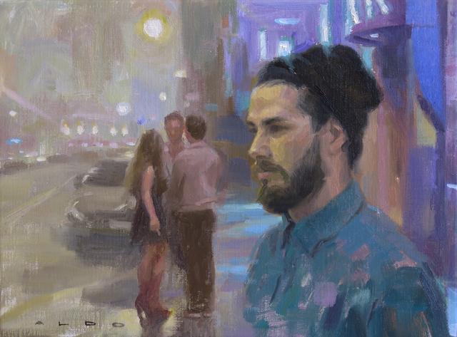 , 'Nighthawks 2,' 2016, Christopher Moller Gallery