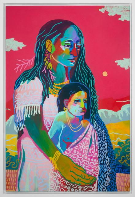 , 'Papoose,' 2017, Rebecca Hossack Art Gallery