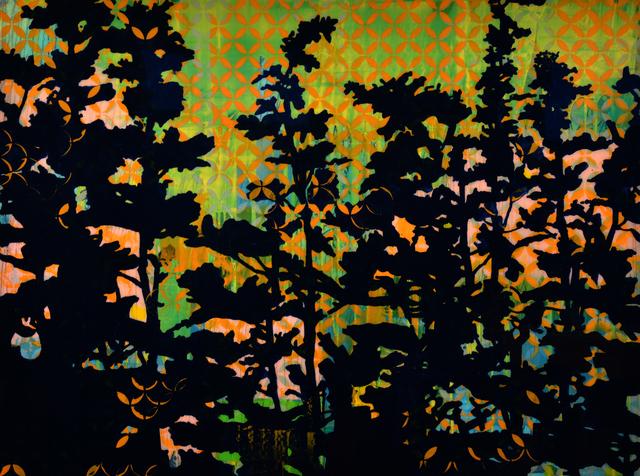 , 'Twilight Hollyhock,' 2014, MILL Contemporary