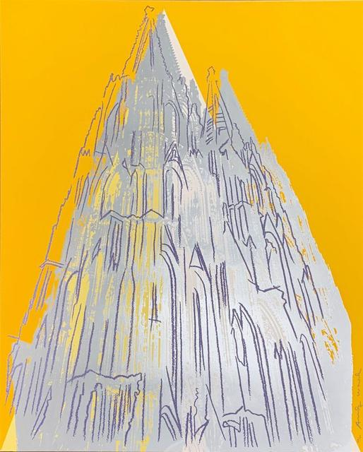 Andy Warhol, 'Cologne Cathedral II.363', 1985, Print, Screenprint with diamond dust on Lenox Museum Board, Hamilton-Selway Fine Art