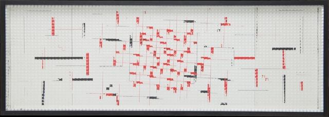 , 'Reticolo frangibile a tre inclinazioni,' 1968, Cortesi Gallery