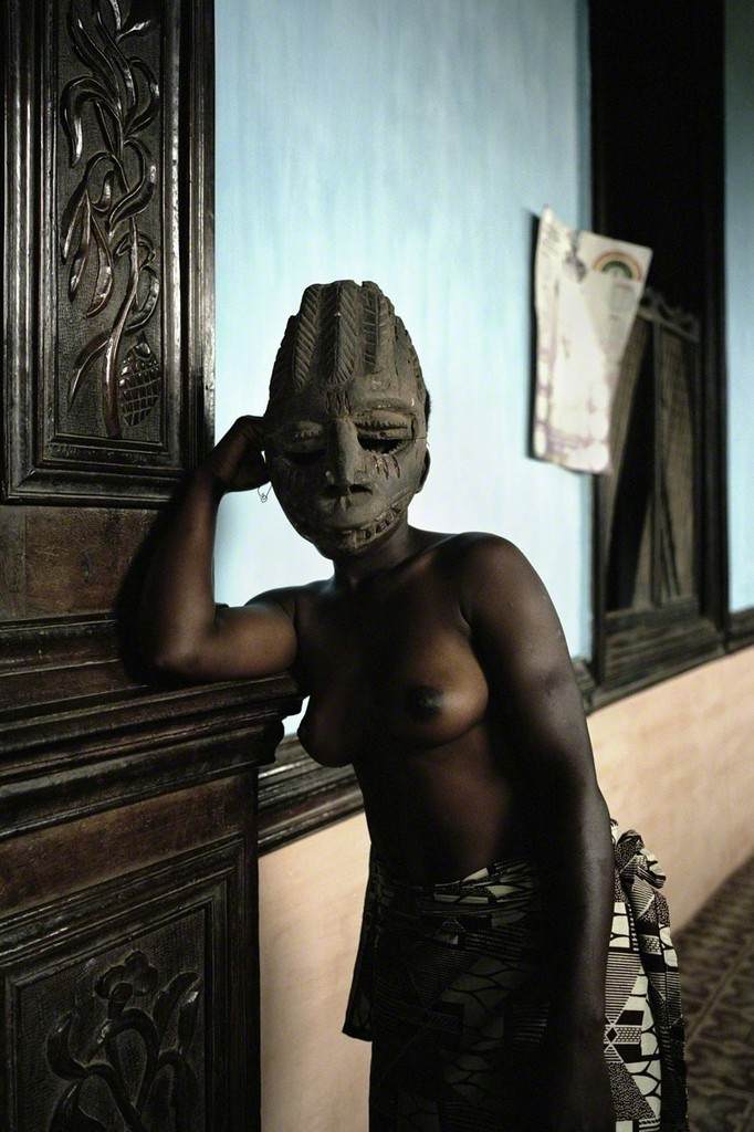 Leonce Raphael Agbodjelou, 'Untitled (Demoiselles de Porto-Novo series),' 2012, Museum of African Design (MOAD)