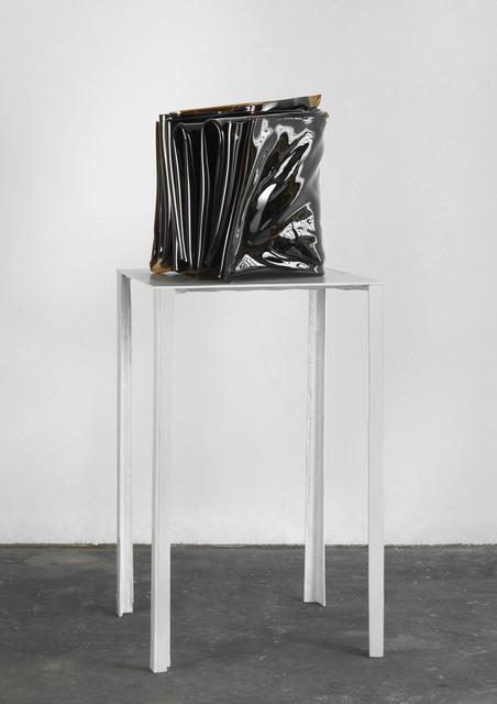 , 'Vertikalen Braun 802,' 2011, Daniel Marzona