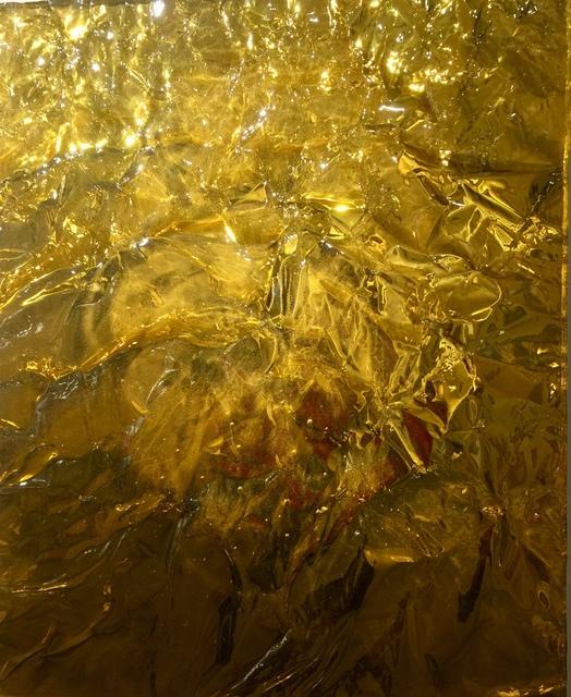 , 'Shiny Gold,' 2017, Galleria Ca' d'Oro
