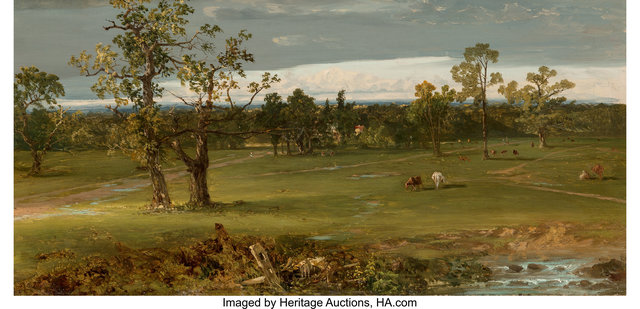 John Frederick Kensett, 'At Pasture', circa 1844-1845, Heritage Auctions