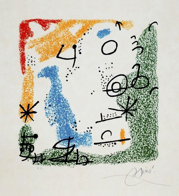 Joan Miró, 'The Essences of the Earth (Les essencies de la terra) [Mourlot 506-514]', 1968, Roseberys