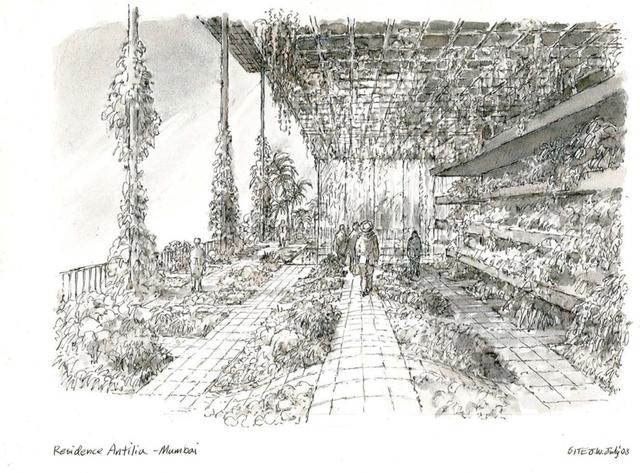 , 'Residence Antilia - Mumbai ,' 2003, Rhona Hoffman Gallery