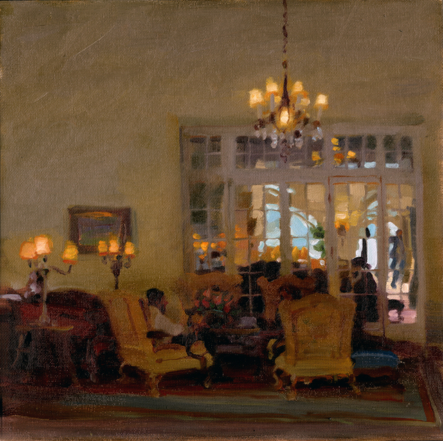 Kim English, 'Guests of the Estate', 2021, Painting, Oil, Abend Gallery