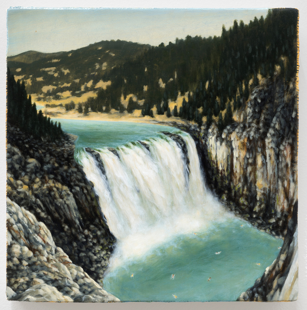 , 'Summers At Waterfall 2,' 2014, Western Exhibitions