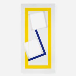 Jaildo Marinho, 'Carre et bleu pour Mattheus,' 2005, Wright: Art + Design (February 2017)