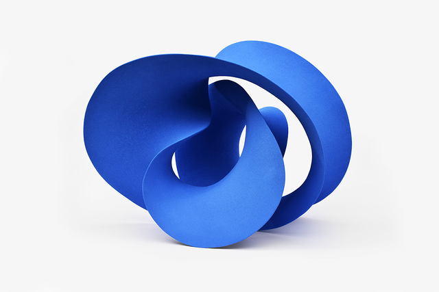 , 'Blue Curved Form ,' 2016, Pangolin