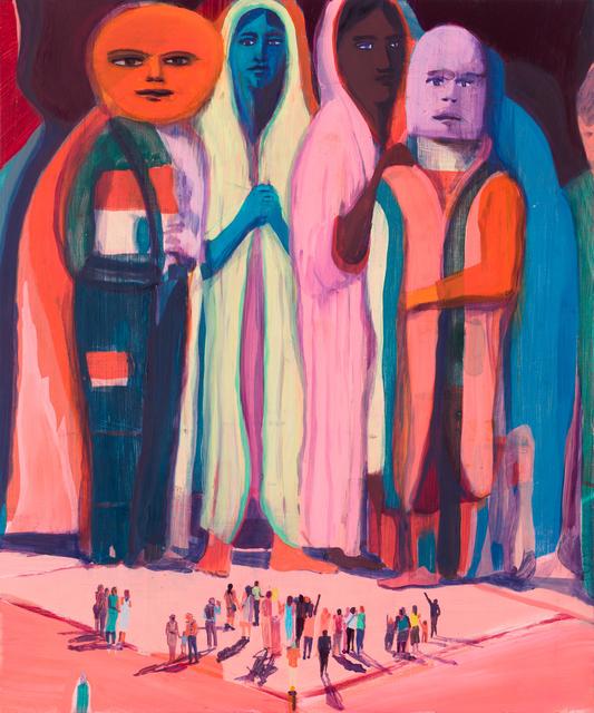 Jules de Balincourt, 'Big Little Monsters', 2017, Victoria Miro