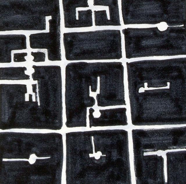 , 'Possibility of M3x3 scene I, M3x3,' 1973, Anita Beckers