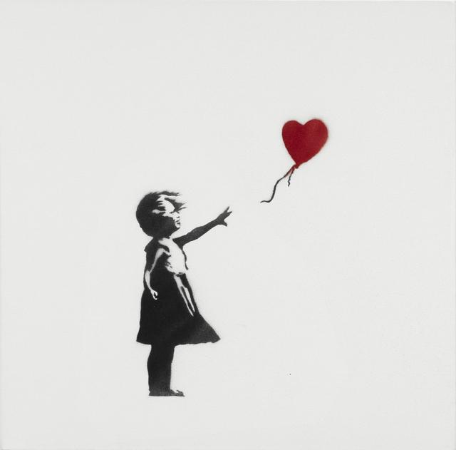 , 'Girl with Balloon,' 2003, Lazinc