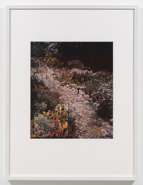 , 'Pink Path (American Gardens #2),' 1990, Downs & Ross