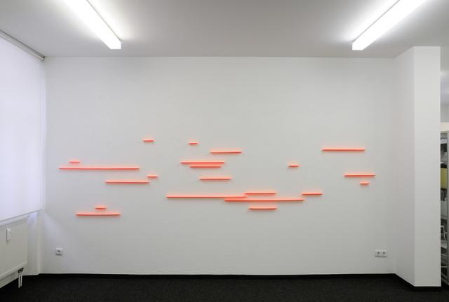 , 'fuge 16, 21tlg.,' 2017, Edition & Galerie Hoffmann