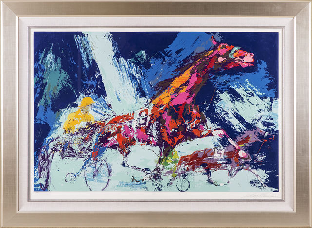 LeRoy Neiman, 'Trotters Horse Racing', 1973, Modern Artifact