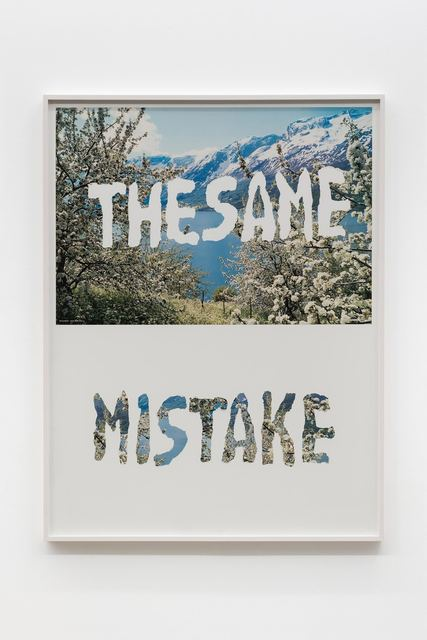 , 'The Same Mistake,' 1998, Croy Nielsen