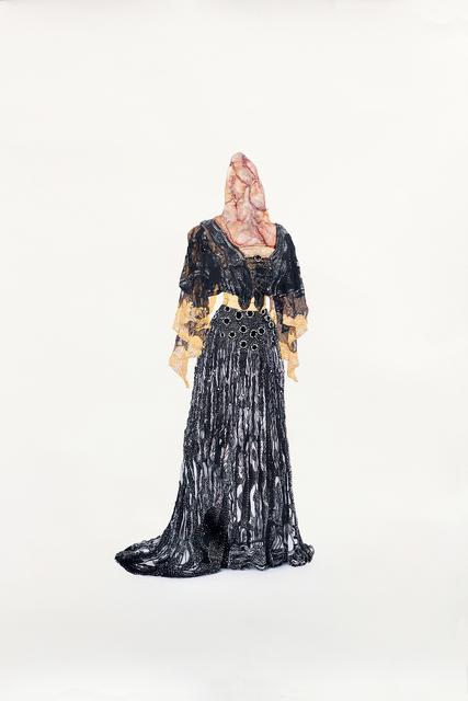 , 'Vestido de noche 1903 de la serie Lujosa presión,' 2018, Galeria Oscar Roman